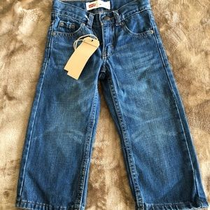 Levi's 505 toddler jeans NWT